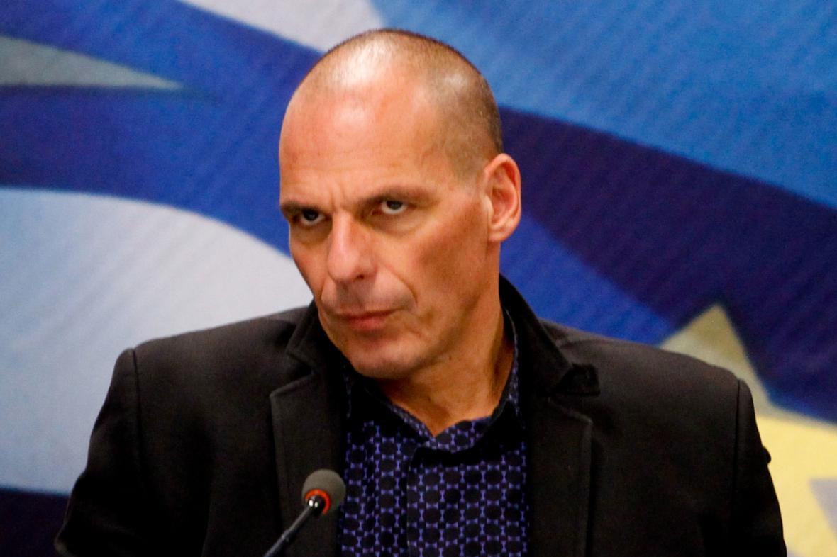 Nový řecký ministr financí Janis Varufakis