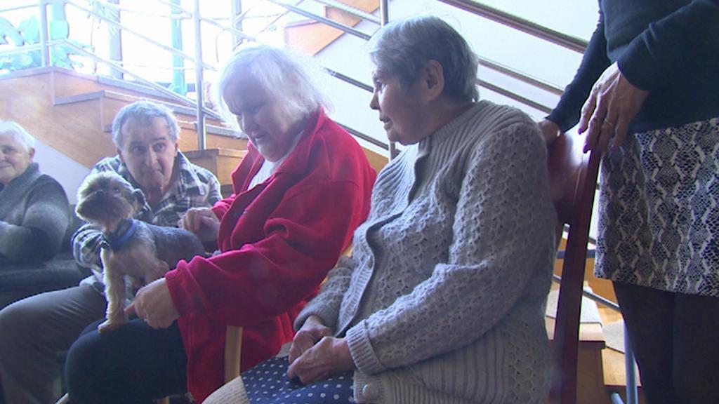 Z penzionu pro seniory Atrium v Liberci