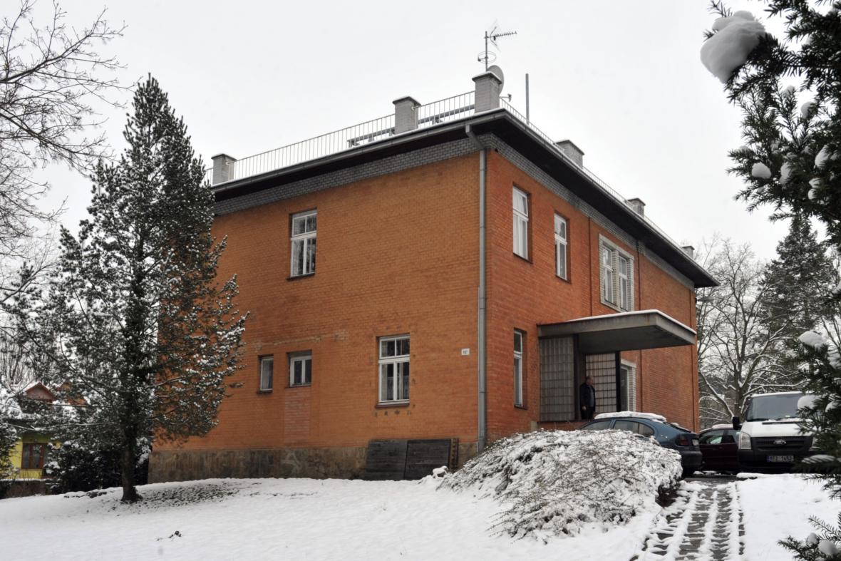 Vila Jana Antonína Bati v centru Zlína