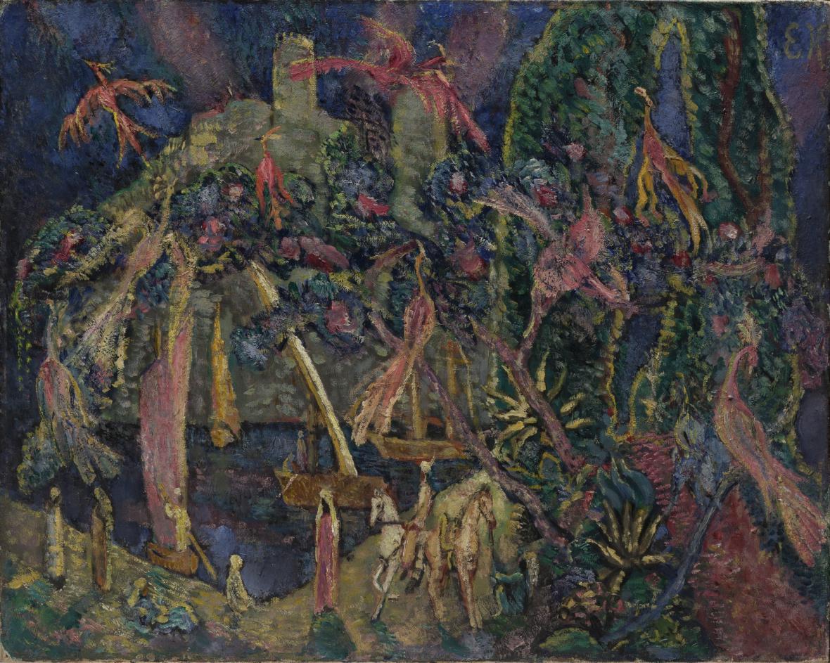 Eugen von Kahler / Orientální pohádka, 1910