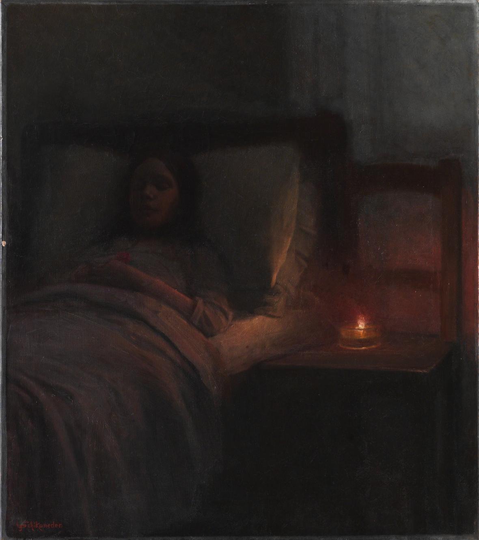 Jakub Schikaneder / Mrtvá dívka, 1910