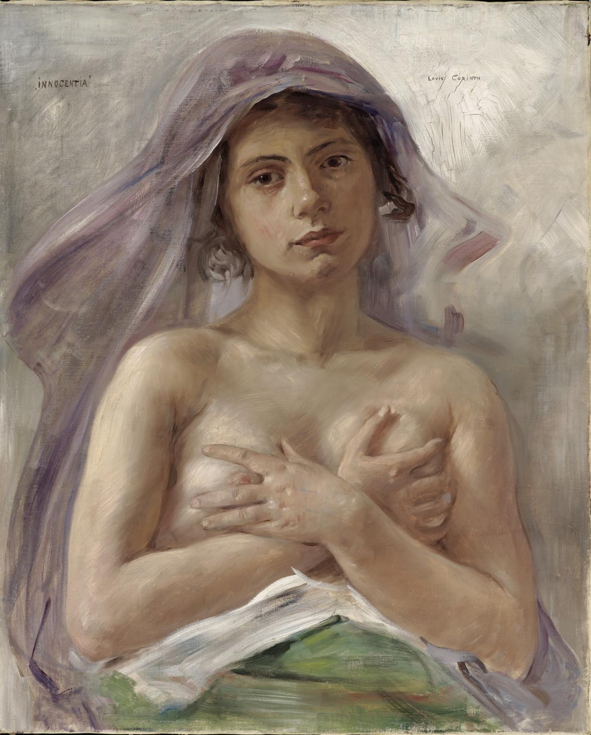 Lovis Corinth / Innocenta, 1890