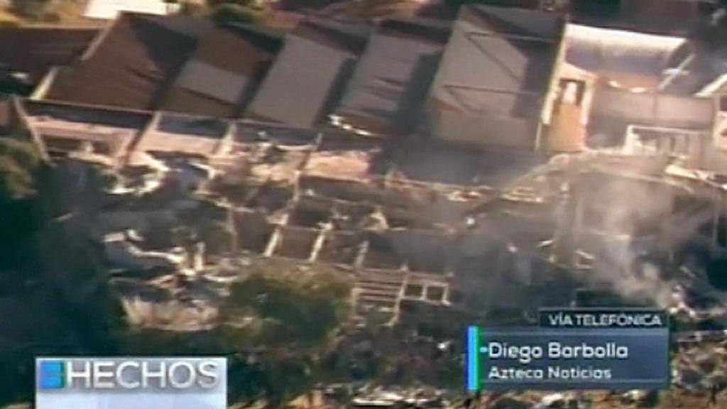 Výbuch plynu mexickou porodnici zčásti zdemoloval