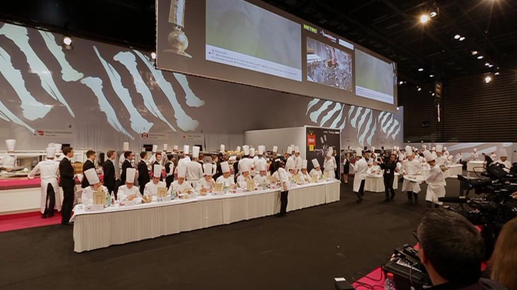 Kuchařská soutěž v Lyonu