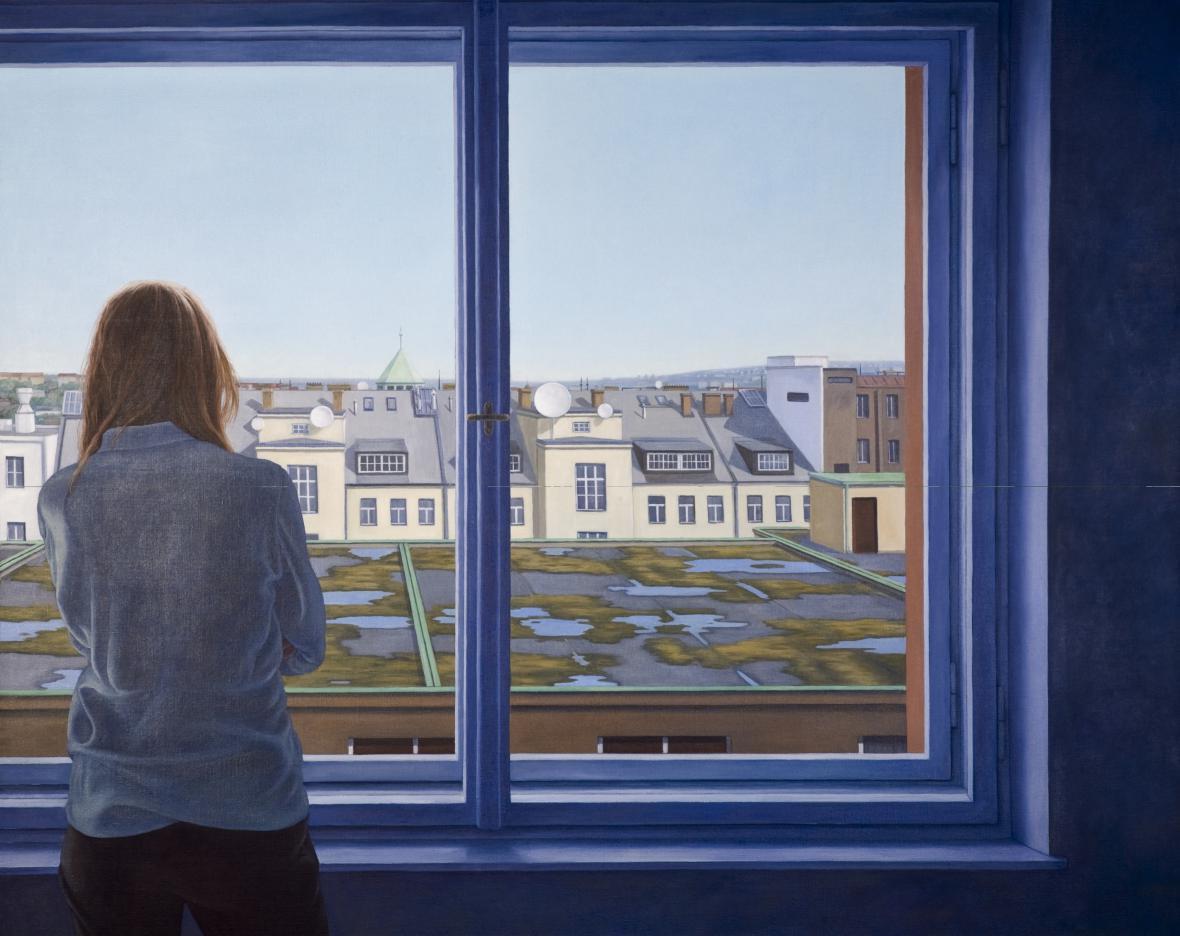 Ivana Lomová / Velké okno, 2008