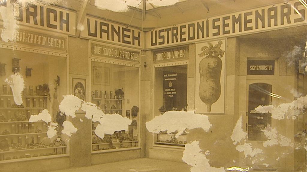 Dobová fotografie Vaňkova semenářství