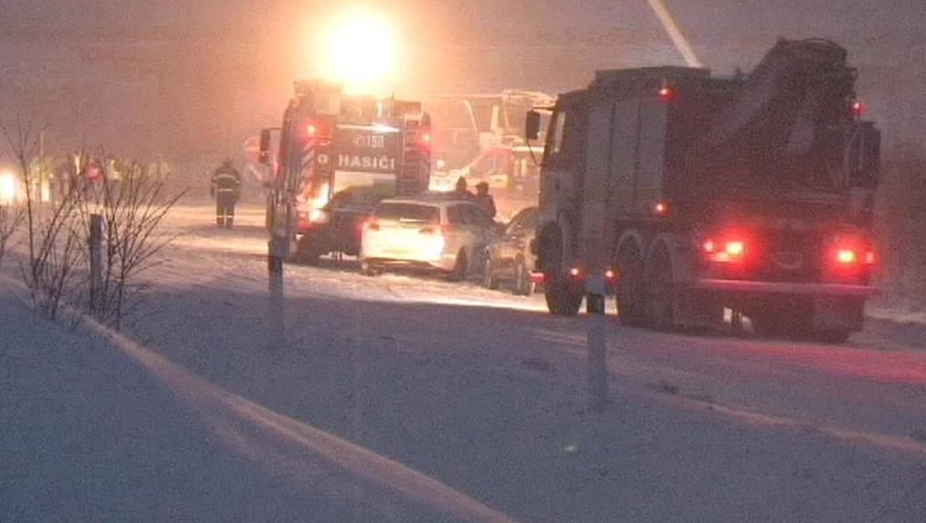 Nehoda autobusu na Slovensku