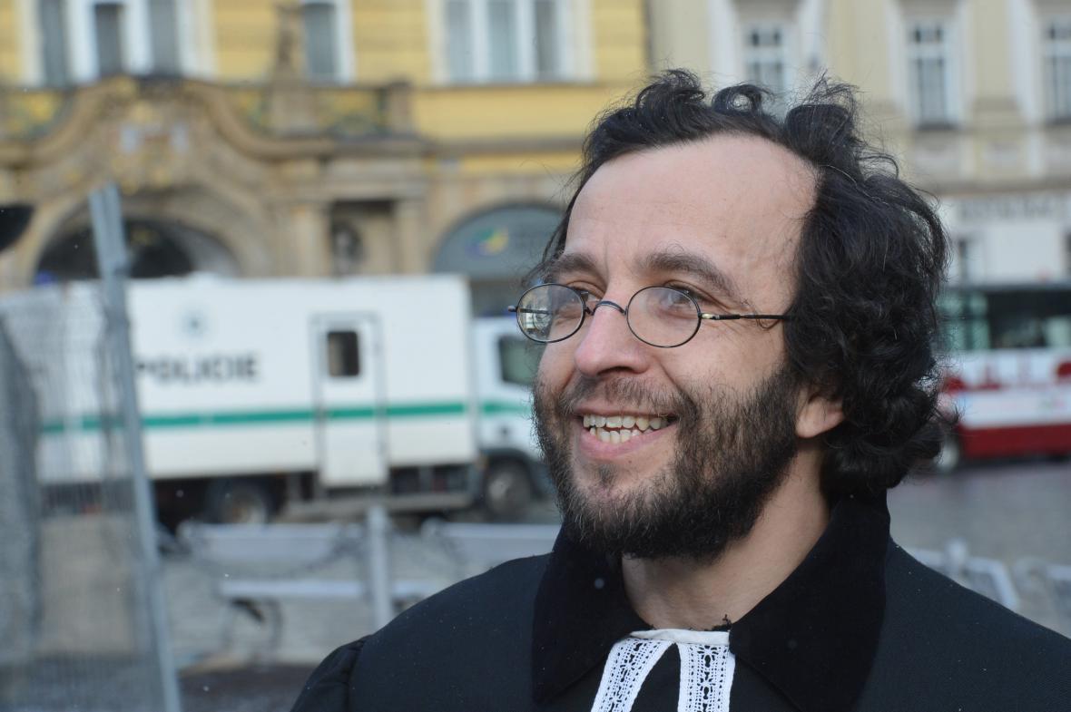 Farář Mikuláš Vymětal