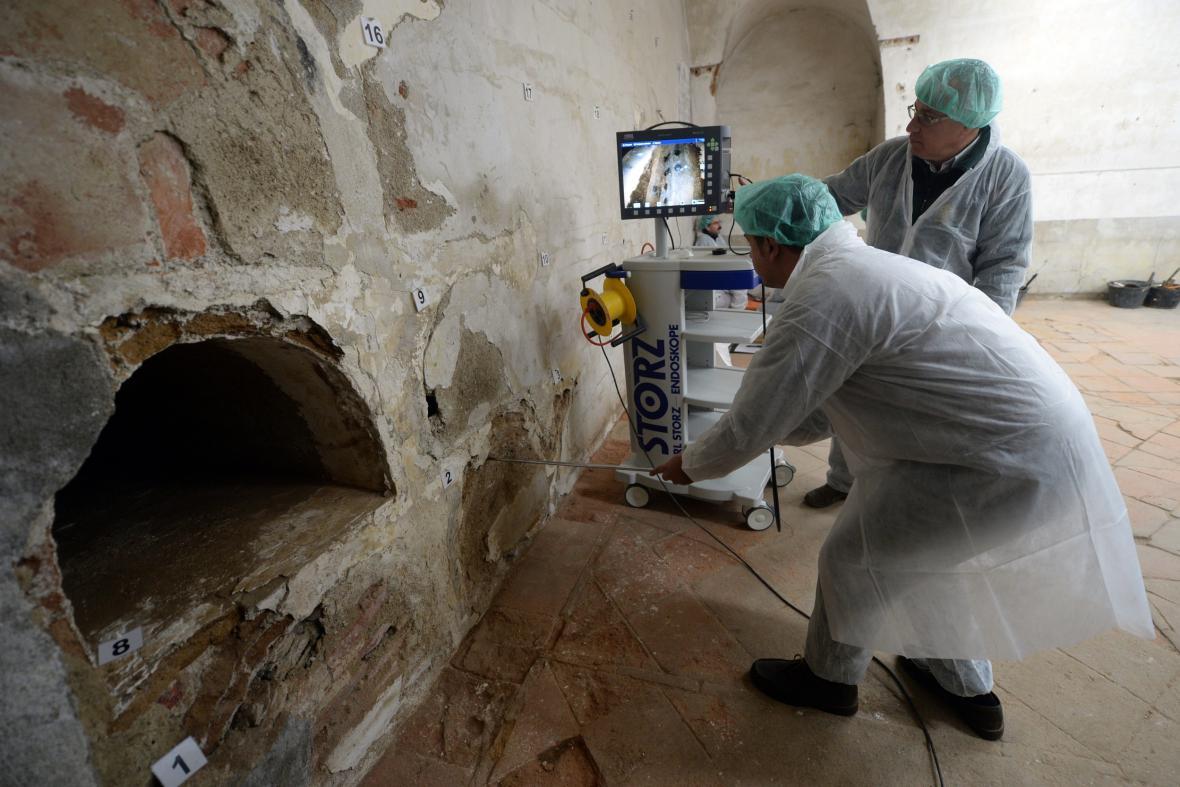 Archeologové možná objevili hrobku spisovatele Cervantese