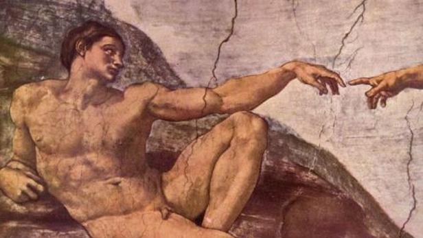 Michelangelo Buonarroti / Stvoření Adama