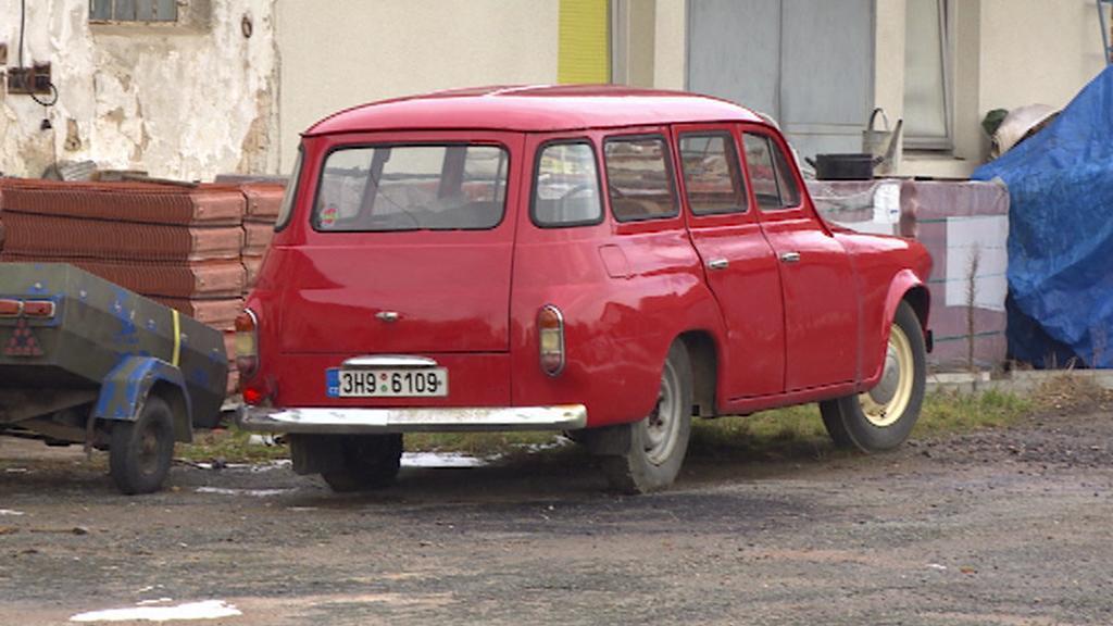 Další staré auto ze sbírky Jiřího Maška