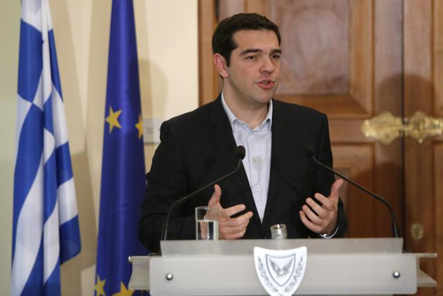 Tsipras na návštěvě Kypru
