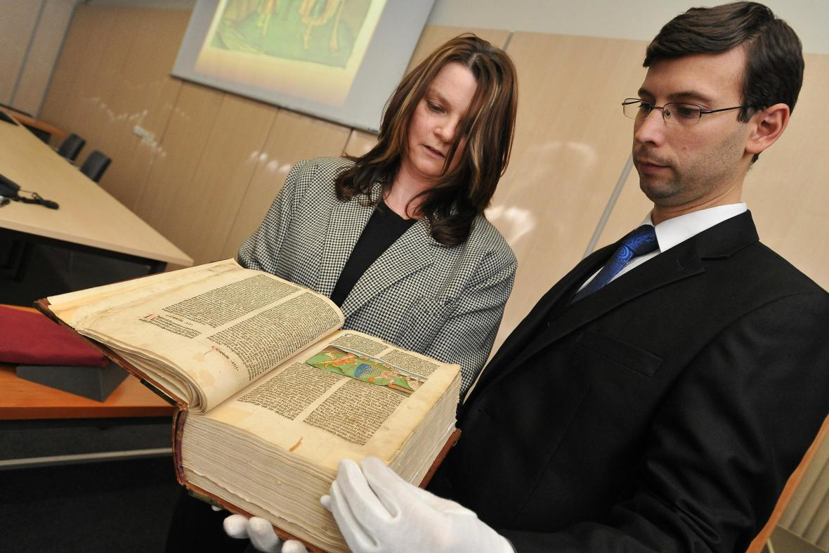 Prvotisk Bible kutnohorské