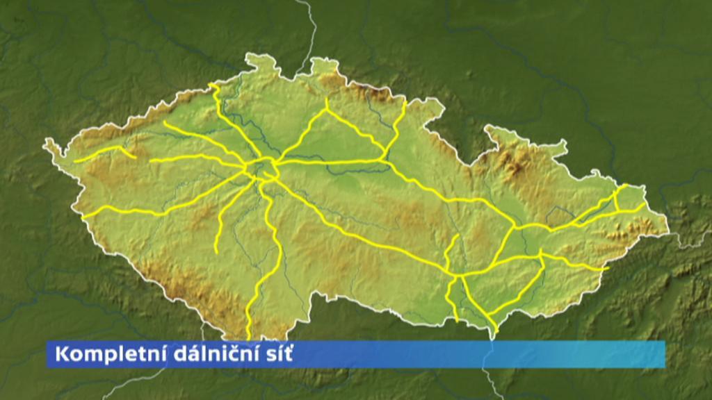 Kompletní dálniční síť