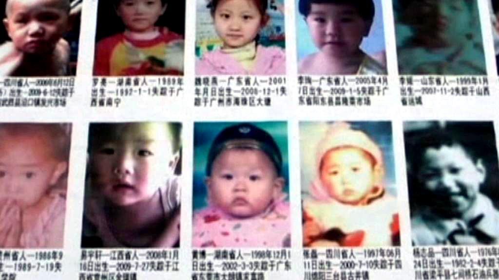 V Číně se ročně ztrácejí tisíce dětí