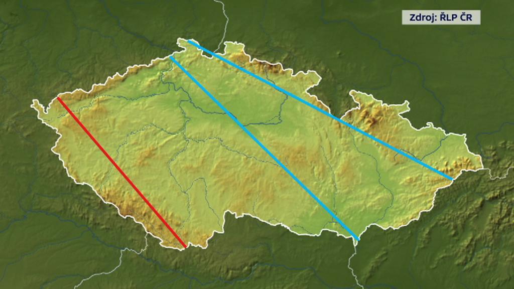 Kvůli konfliktu na Ukrajině se více létá kratší jižní cestou