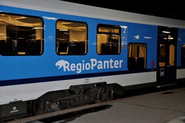 Vlaky RegioPanter