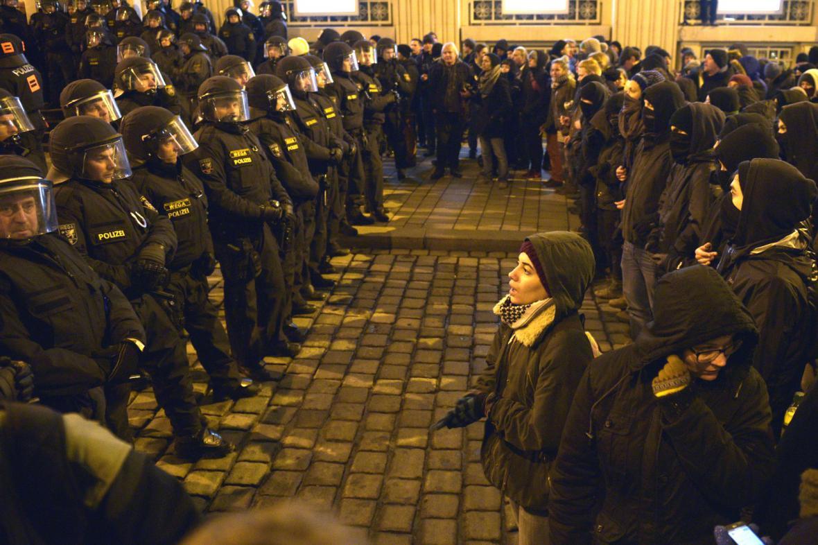 Demonstrace Pegidy ve Vídni