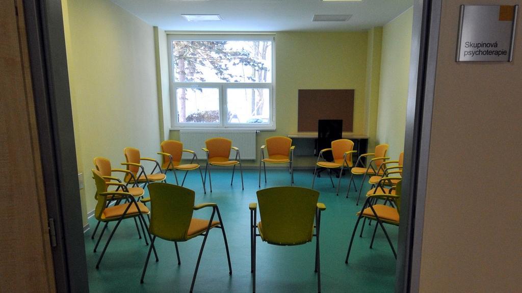 Místnost pro skupinovou terapii