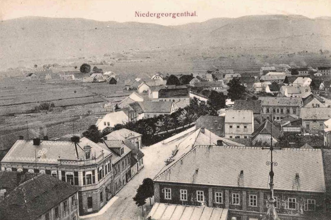 Zaniklá obec Dolní Jiřetín