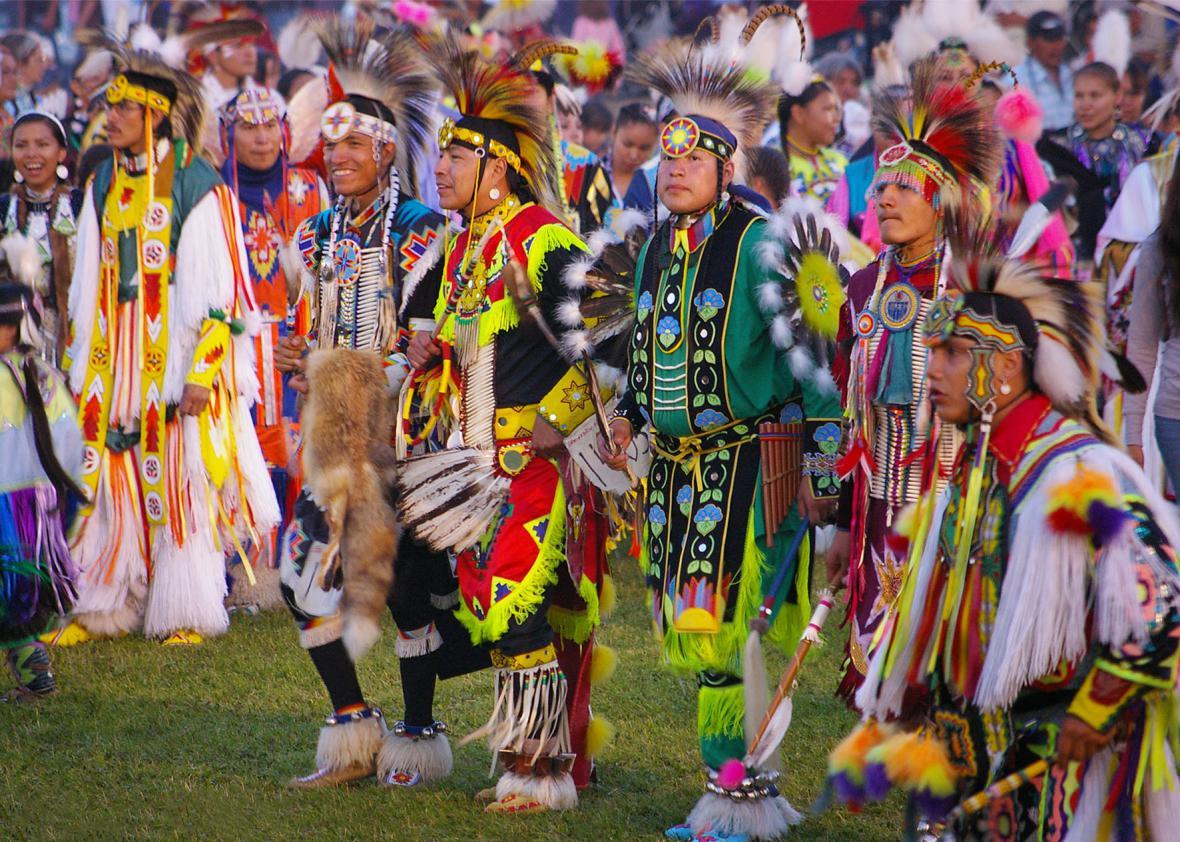 Indiáni na fotografii Vladimíra Prachaře