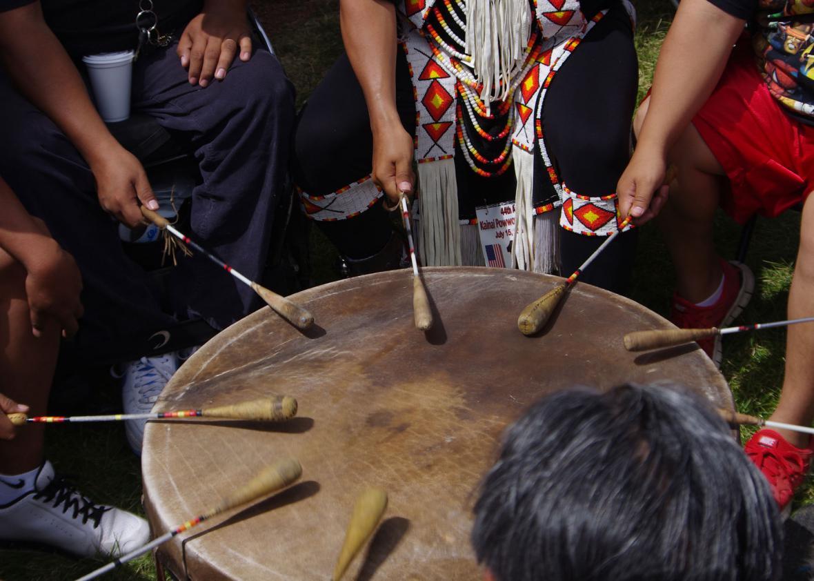 Indiánský buben