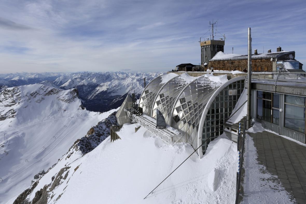 Chata na Zugspitze