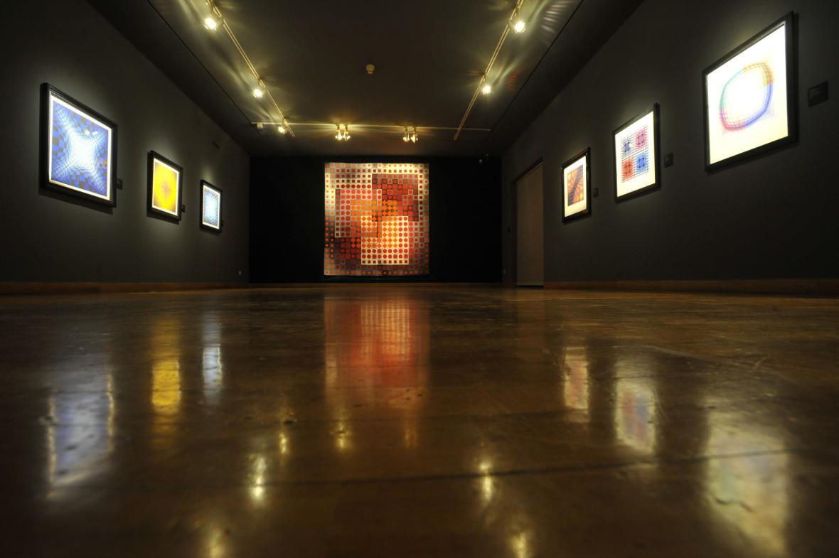 Výstava Victora Vasarelyho Nová akvizice