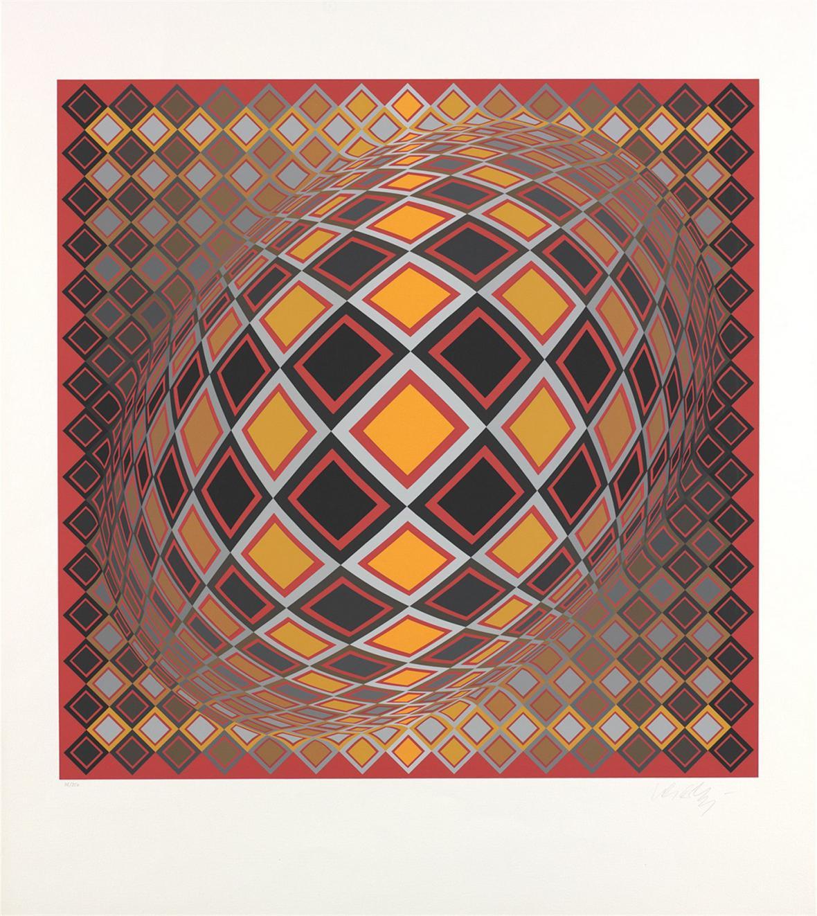 Serigrafie Victora Vasarelyho