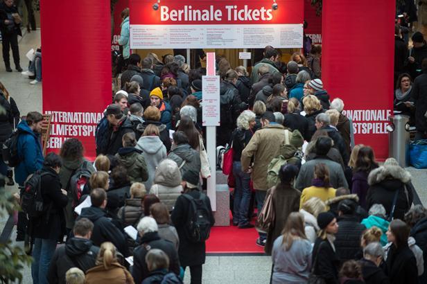 Fronta na lístky 65. Berlinale