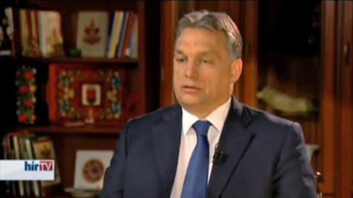 Viktor Orbán v exkluzivním rozhovoru pro Hír TV