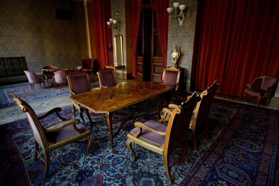Prezidentský salonek v Rudolfinu