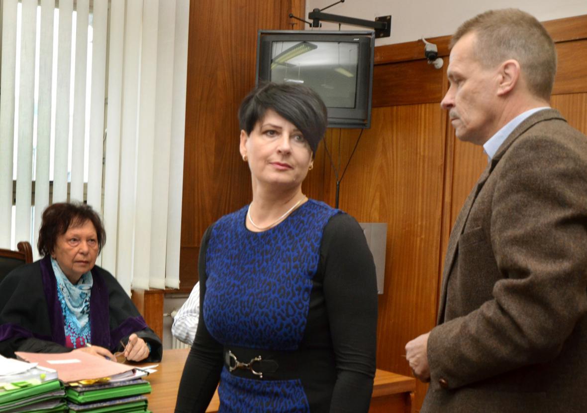 Hana Kaštilová-Tesařová a Jan Dostál