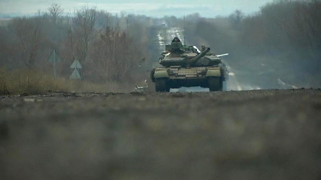 Bojové operace na Ukrajině
