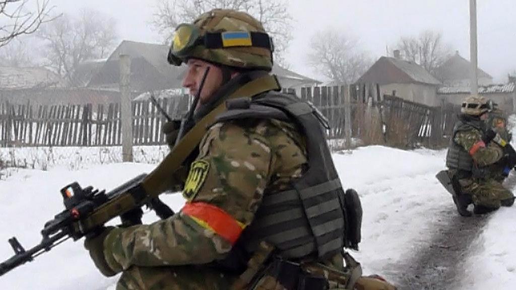 Boje na Ukrajině