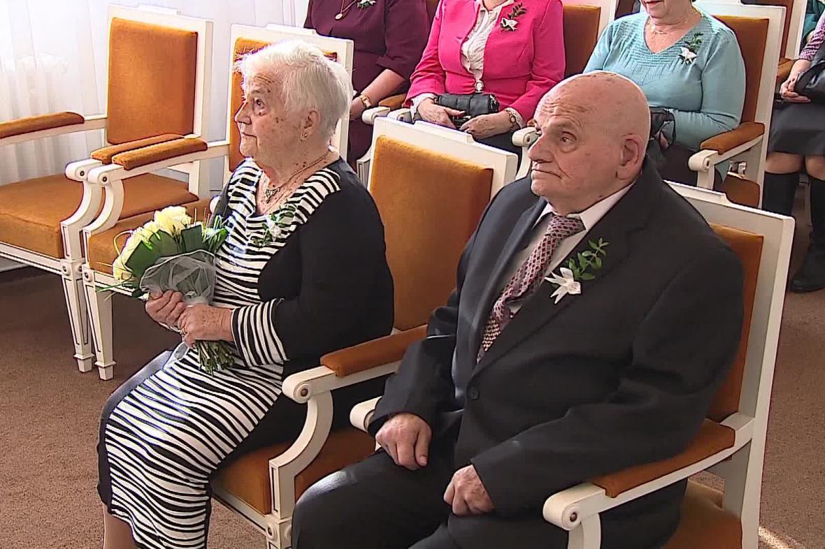 Manželé Sázavští jsou svoji 65 let