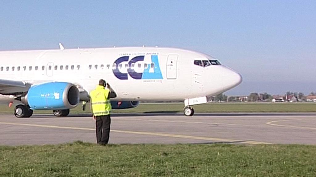 Podle studie by na hradeckém letišti mohlo u terminálu stát až 17 velkých letadel