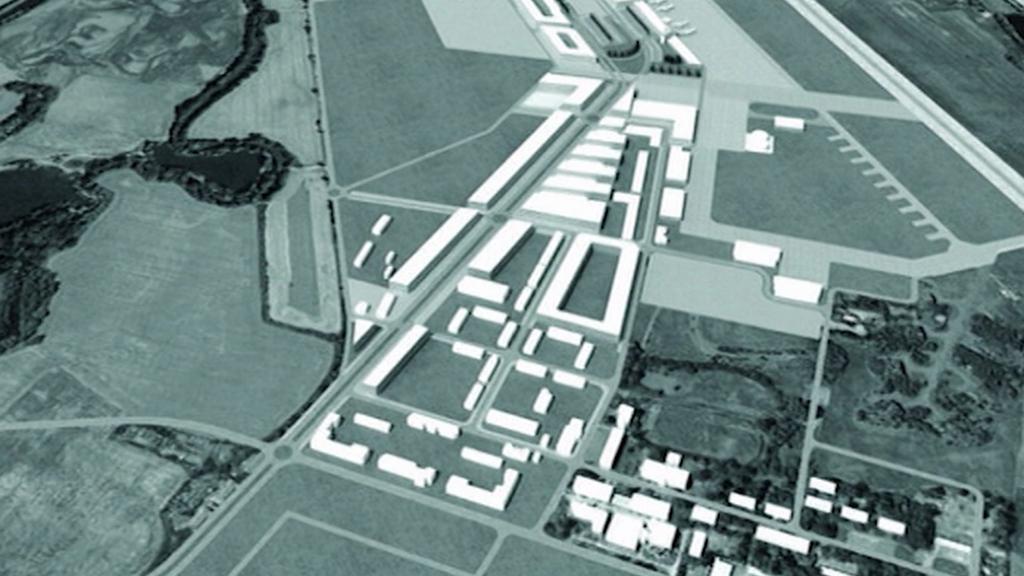 Studie na rozvoj letiště v Hradci Králové