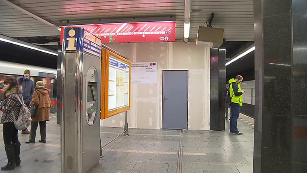 Na nástupišti stanice I. P. Pavlova budují výtah