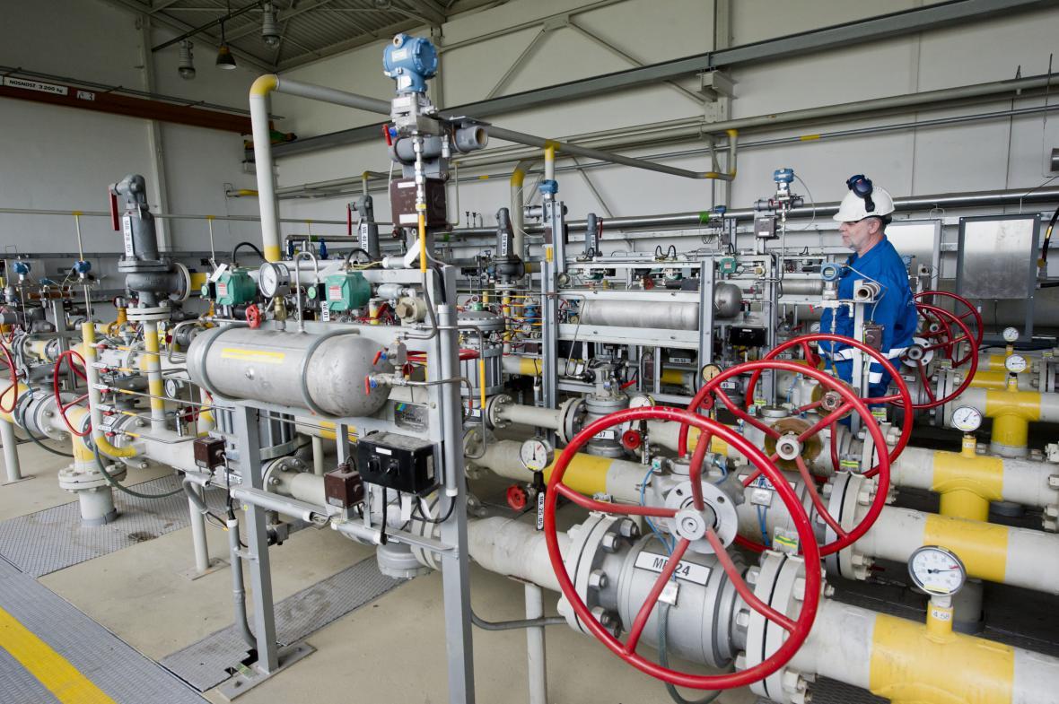 Podzemní zásobník plynu skupiny RWE