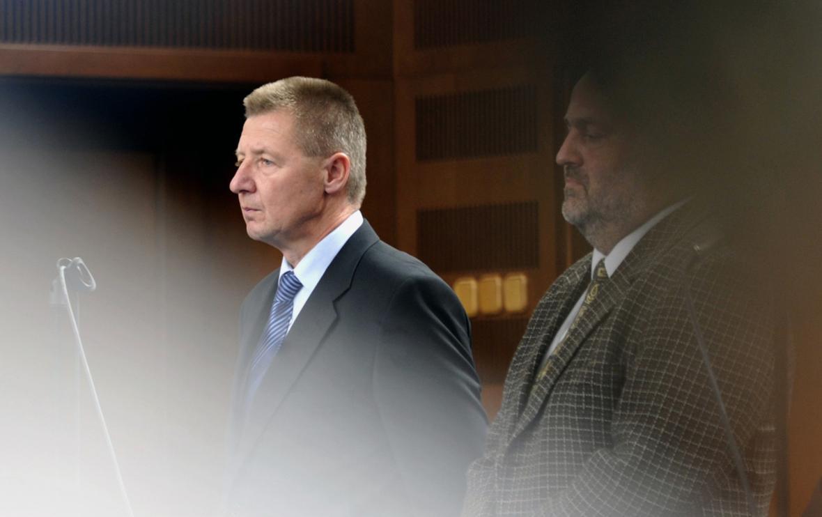 Miroslav Hálek byl v roce 2012 ještě mezi obžalovanými