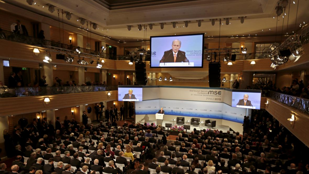 Zahájení 51. mnichovské bezpečnostní konference