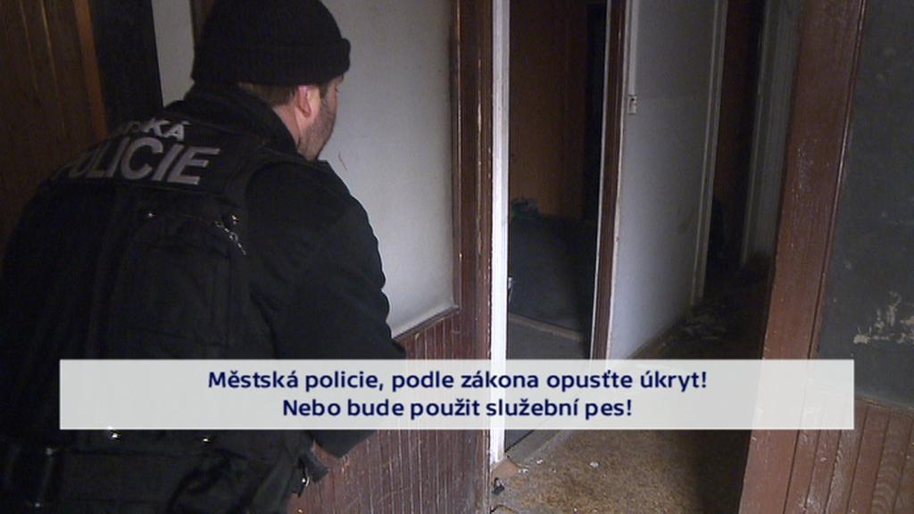 Policie kontroluje podezřelou chatku