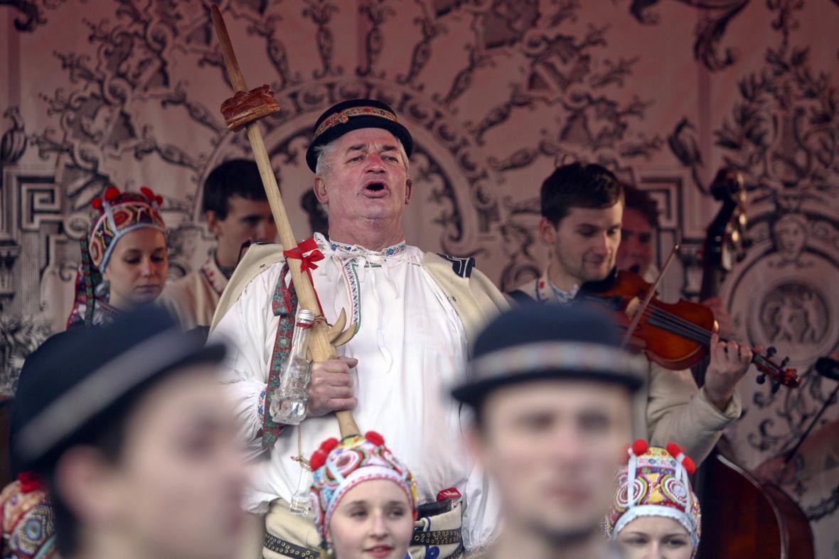 Masopustní průvod masek v Praze