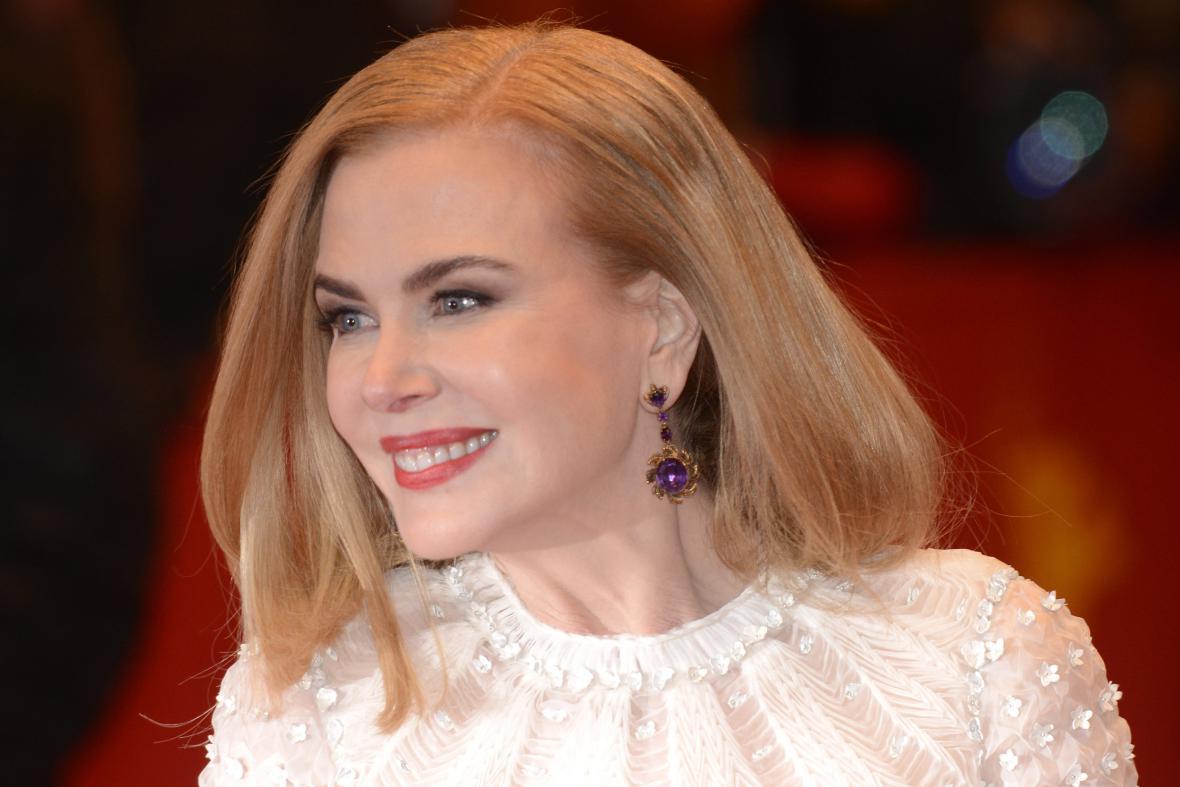 Nicole Kidmanová na filmovém festivalu Berlinale