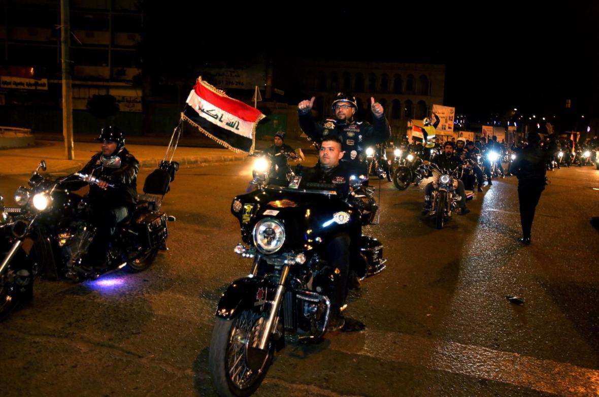 V Bagdádu skončil zákaz nočního vycházení