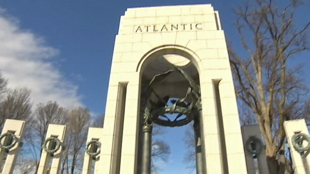 Památník druhé světové války ve Washingtonu