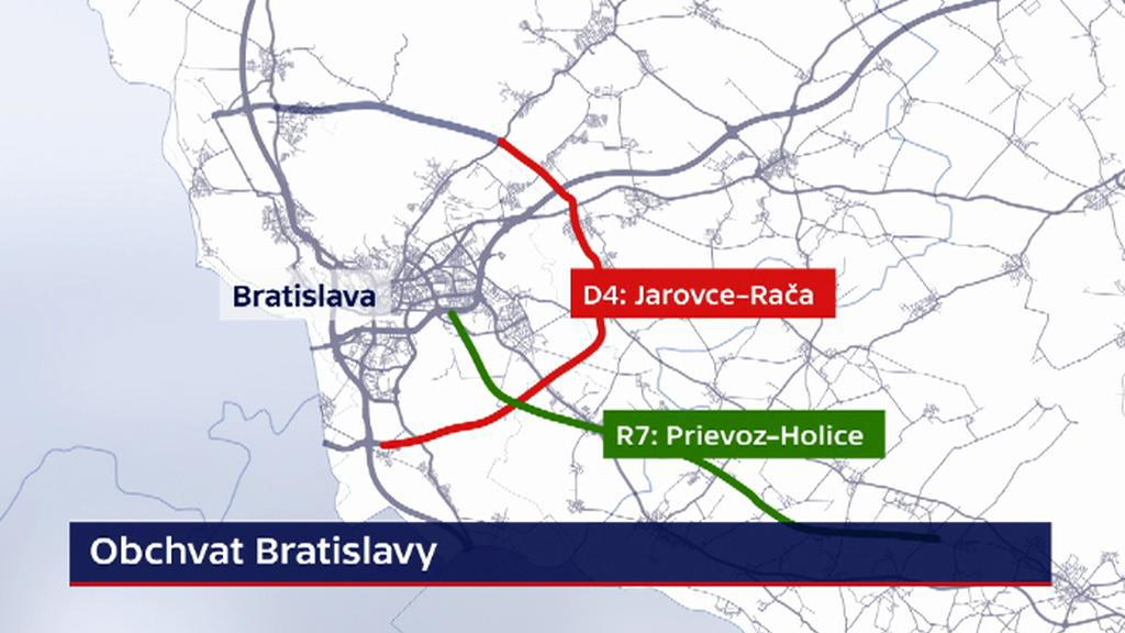 Plánovaný obchvat Bratislavy