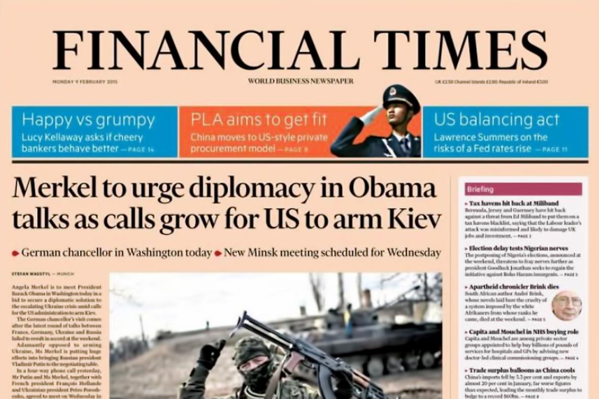 Financial Times z 9. února 2015