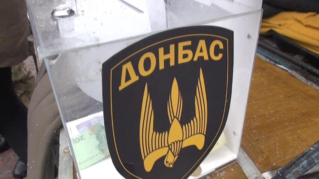 Kyjevská sbírka pro vojáky bojující na východě země